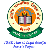 CBSE Class 12 Legal Studies Sample Papers
