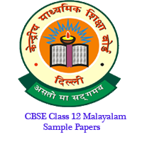 CBSE Class 12 Malayalam Sample Papers