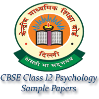 CBSE Class 12 Psychology Sample Papers