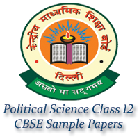 Political Science Class 12 CBSE Sample Papers