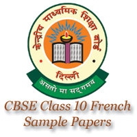 CBSE Class 10 French Sample Papers Image