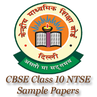 CBSE Class 10 NTSE Sample Papers