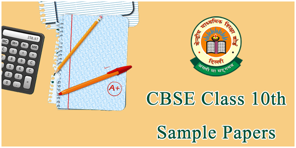 CBSE Class 10 Sample Papers-cbse sample papers for class 10 image