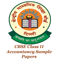 CBSE Class 11 Accountancy Sample Papers