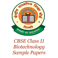 CBSE Class 11 Biotechnology Sample Papers