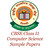 CBSE Class 11 Computer Science Sample Papers