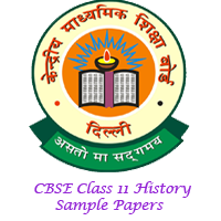 CBSE Class 11 History Sample Papers Image