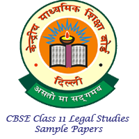 CBSE Class 11 Legal Studies Sample Papers Image
