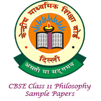 CBSE Class 11 Philosophy Sample Papers Image