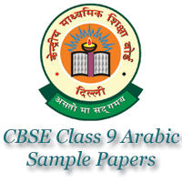 CBSE Class 9 Arabic Sample Papers image