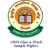 CBSE Class 9 French Sample Papers Image