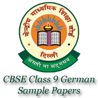 CBSE Class 9 German Sample Papers image