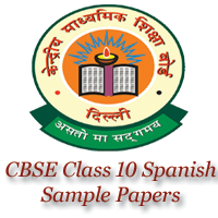 CBSE Class 10 Spanish Sample Papers image
