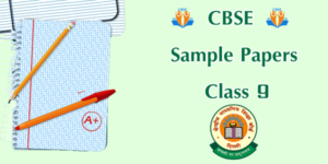 CBSE Sample Papers Class 9 image