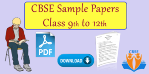 cbse sample papers class 9 to 12 image