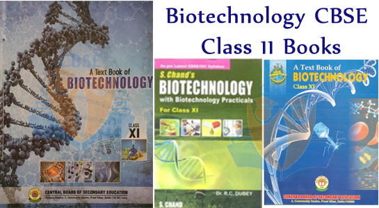 Biotechnology CBSE Class 11 Books | CBSE Books for 11th