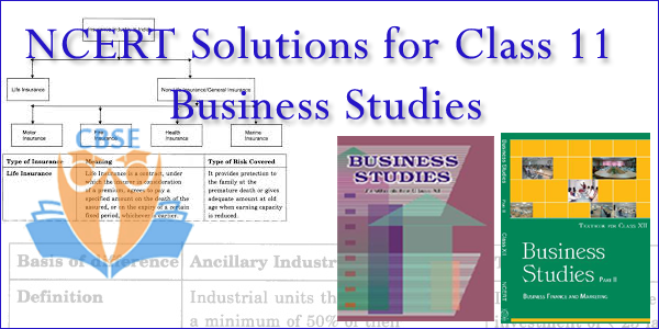 NCERT solutions for class 11 Business studies chapter wise